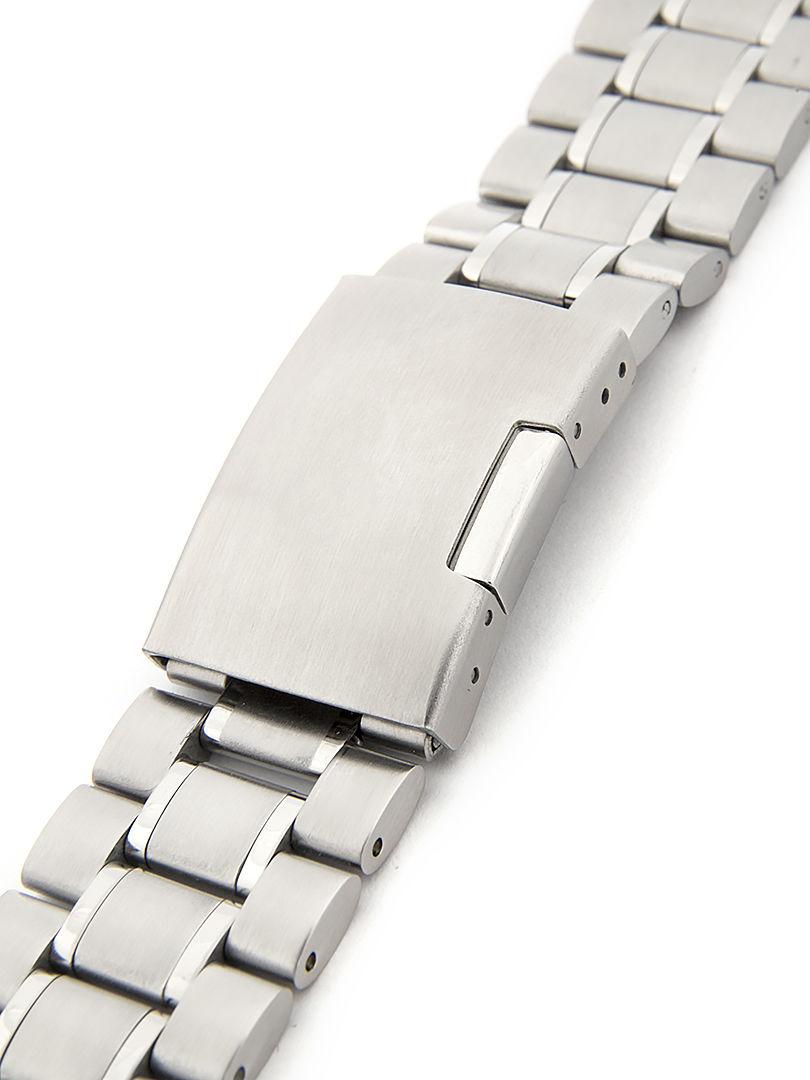 Pánský kovový náramek na hodinky CR-07