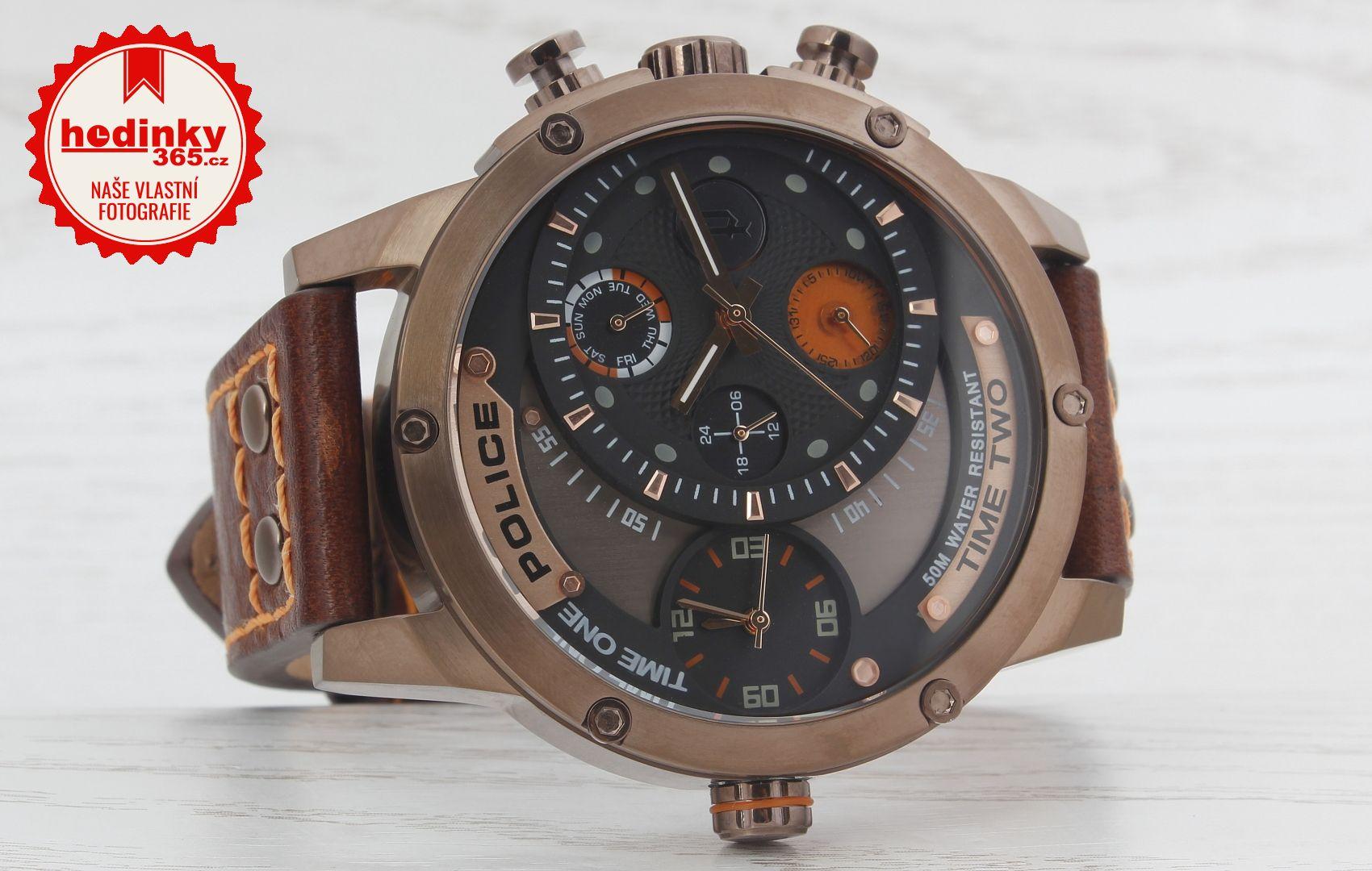 Pánské hodinky - kožený řemínek e9e7949d77
