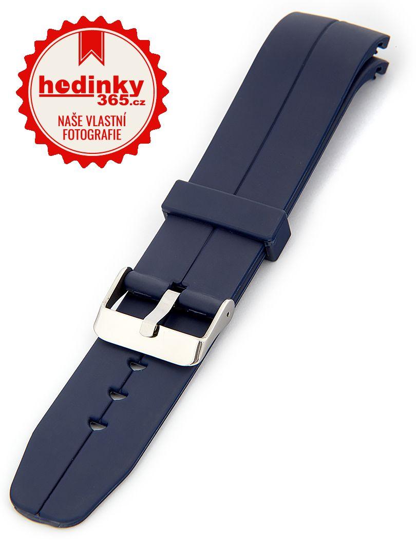 Unisex silikonový modrý řemínek SC-00C