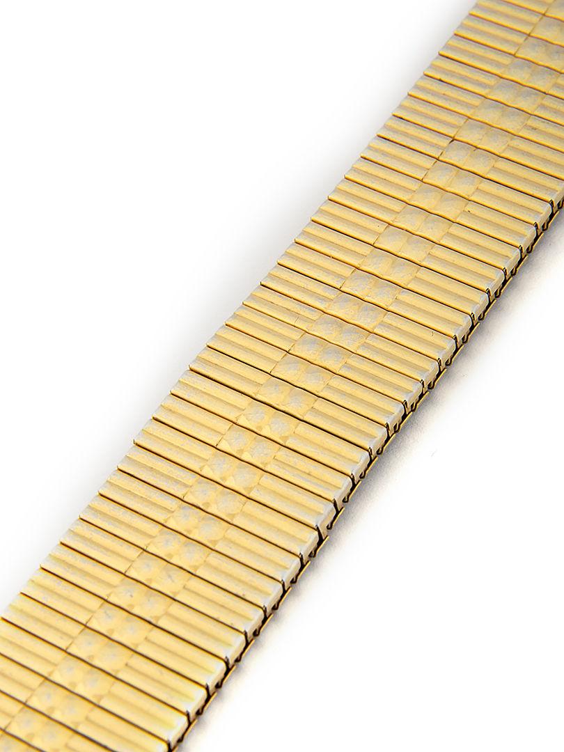Unisex zlatý kovotah na hodinky AU-108
