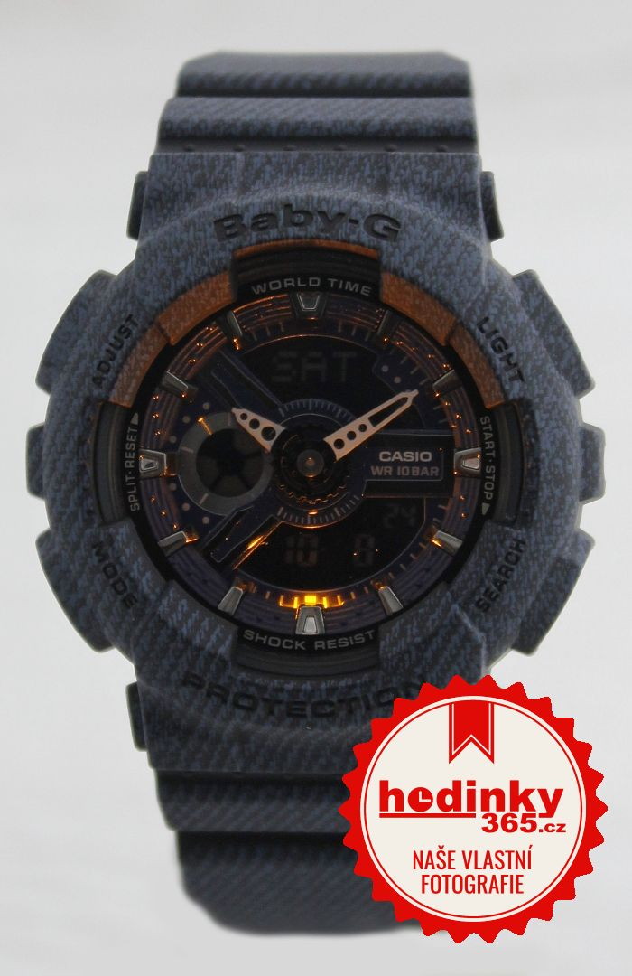 Casio Baby-G BA-110DC-2A1ER Denim Series  8ba4597dbf