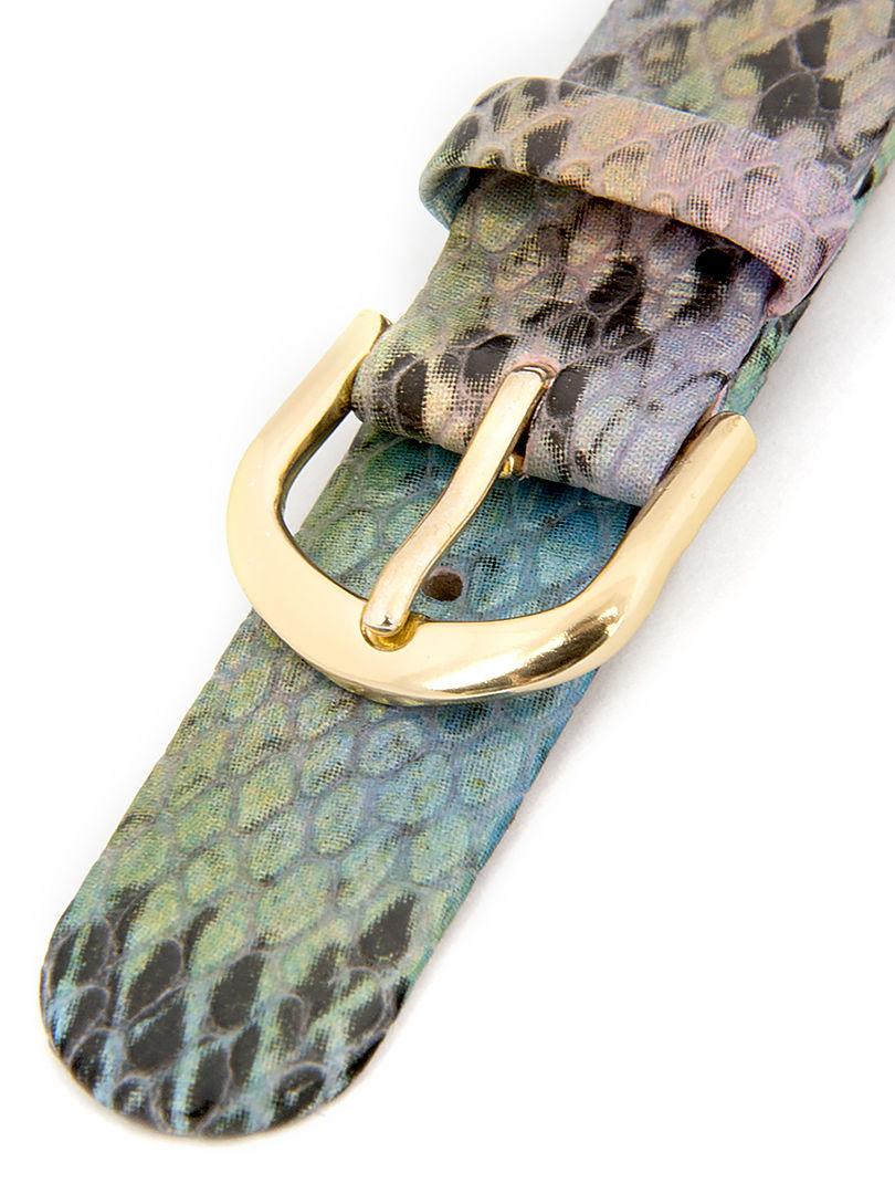 Dámský koženkový hadí řemínek k hodinkám R1-SNA2