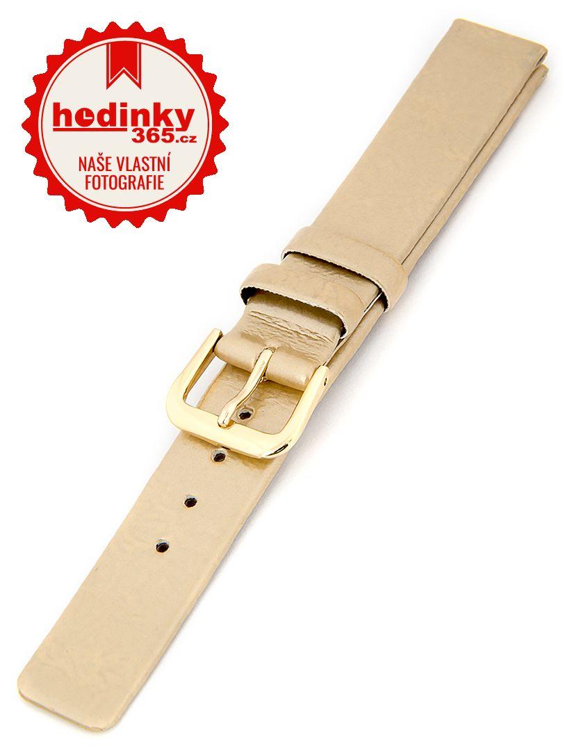 Dámský koženkový zlatý řemínek R1-GOL1