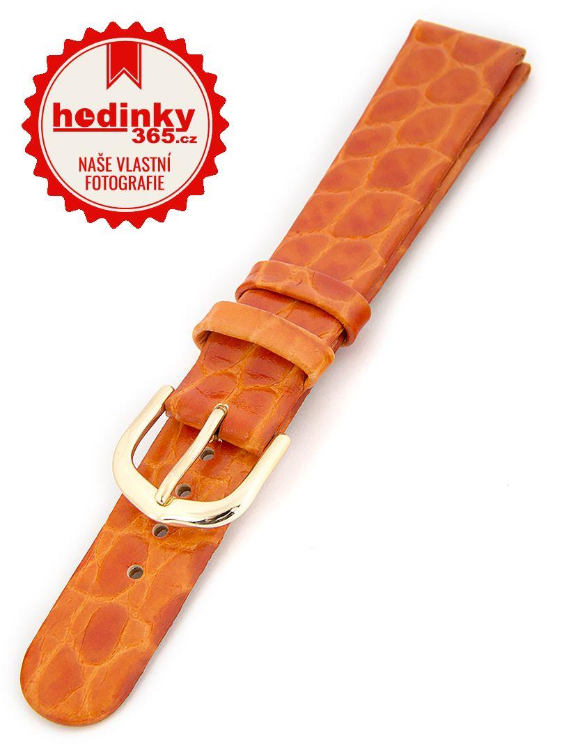 Dámský kožený oranžový řemínek R1-OR4