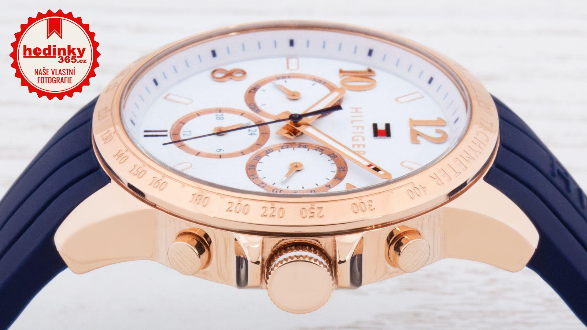 Tommy Hilfiger 1781645. Dámské hodinky - silikonový řemínek cf90d97a8b3