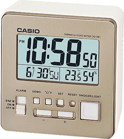 Budík Casio DQ-981-9EF