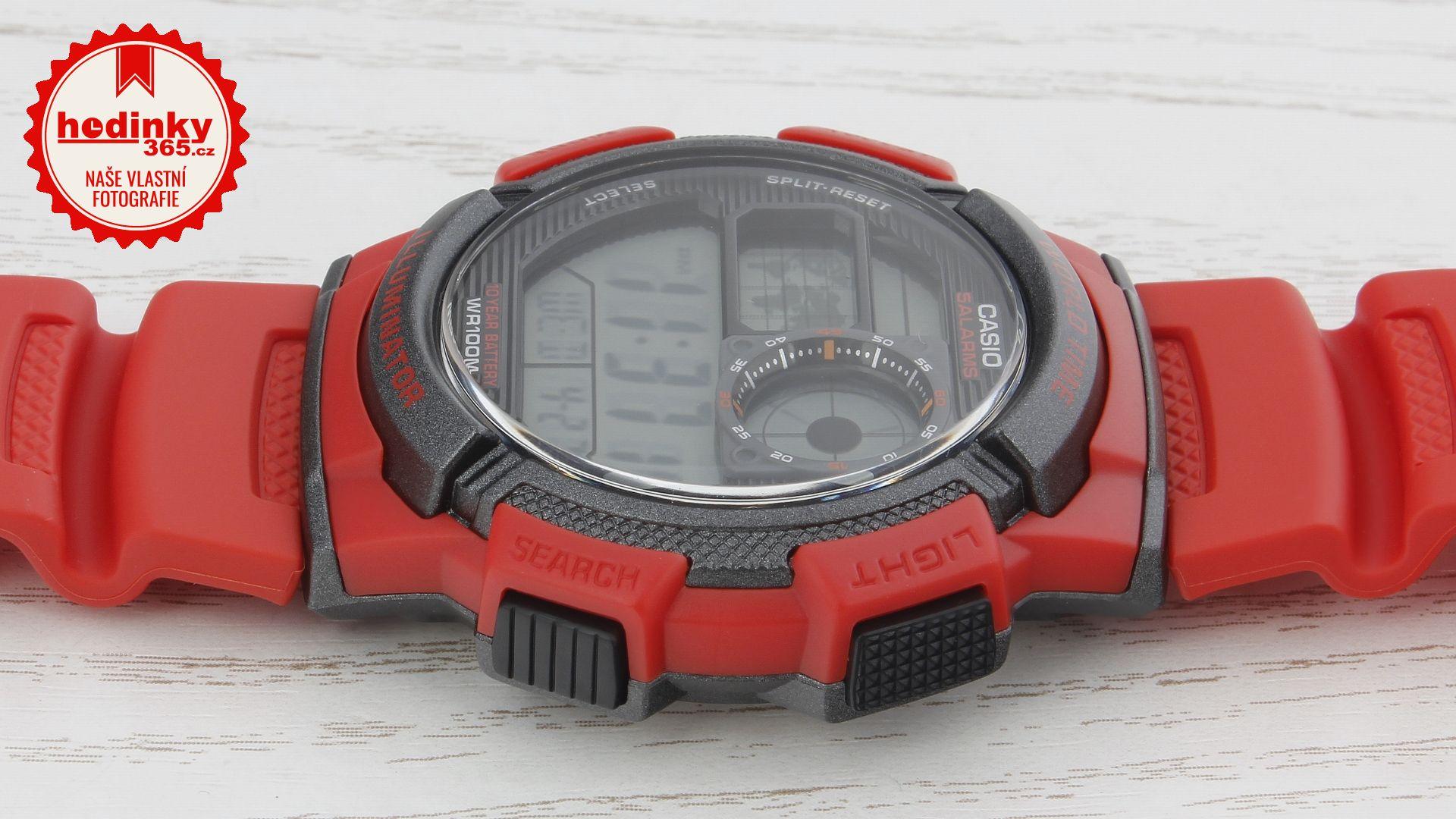 a92f3bbb803 Pánské hodinky - pryskyřicový řemínek