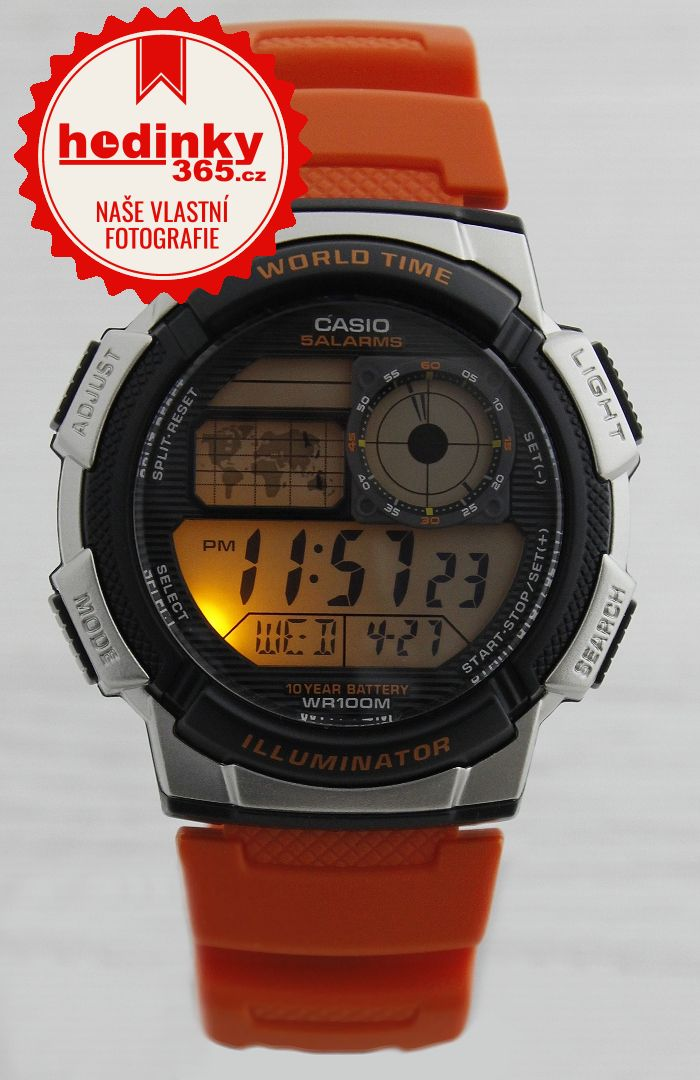 8b1a14a8aeb Hodinky Casio Collection AE-1000W-4BVEF