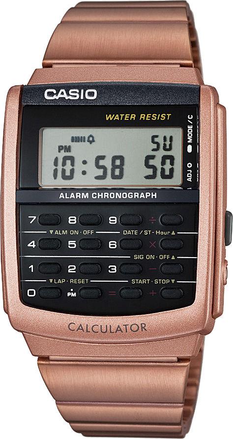 Casio Collection Retro CA-506C-5AER. Pánské hodinky - pryskyřicový řemínek 2031844b4a6