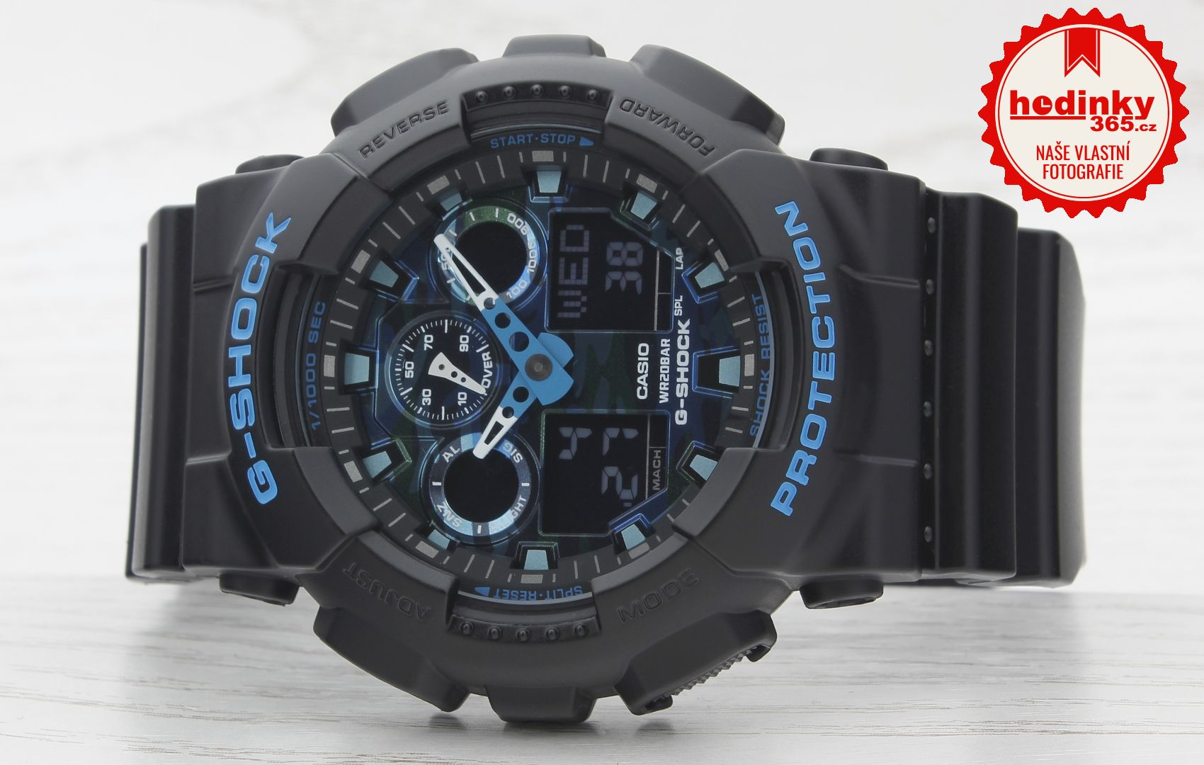 Casio G-Shock Original GA-100CB-1AER. Hodnocení  5 3fa8b269196