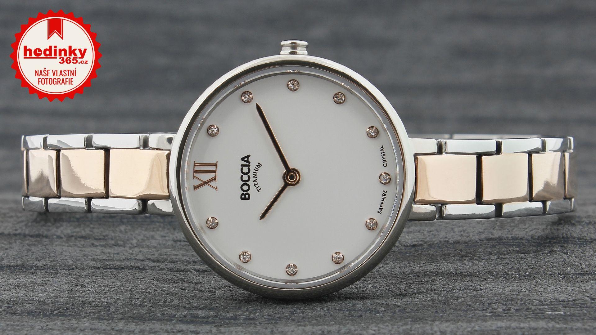 Dámské hodinky - titanový řemínek 2d90cab9a0c