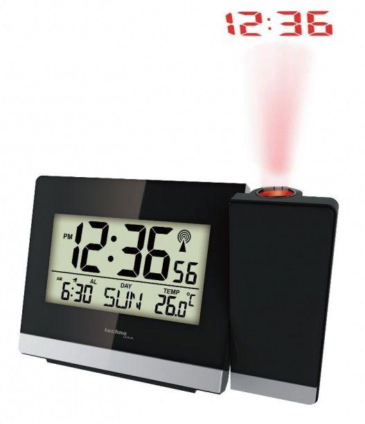 Digitální budík s projekcí a měřením vnitřní teploty WT 536