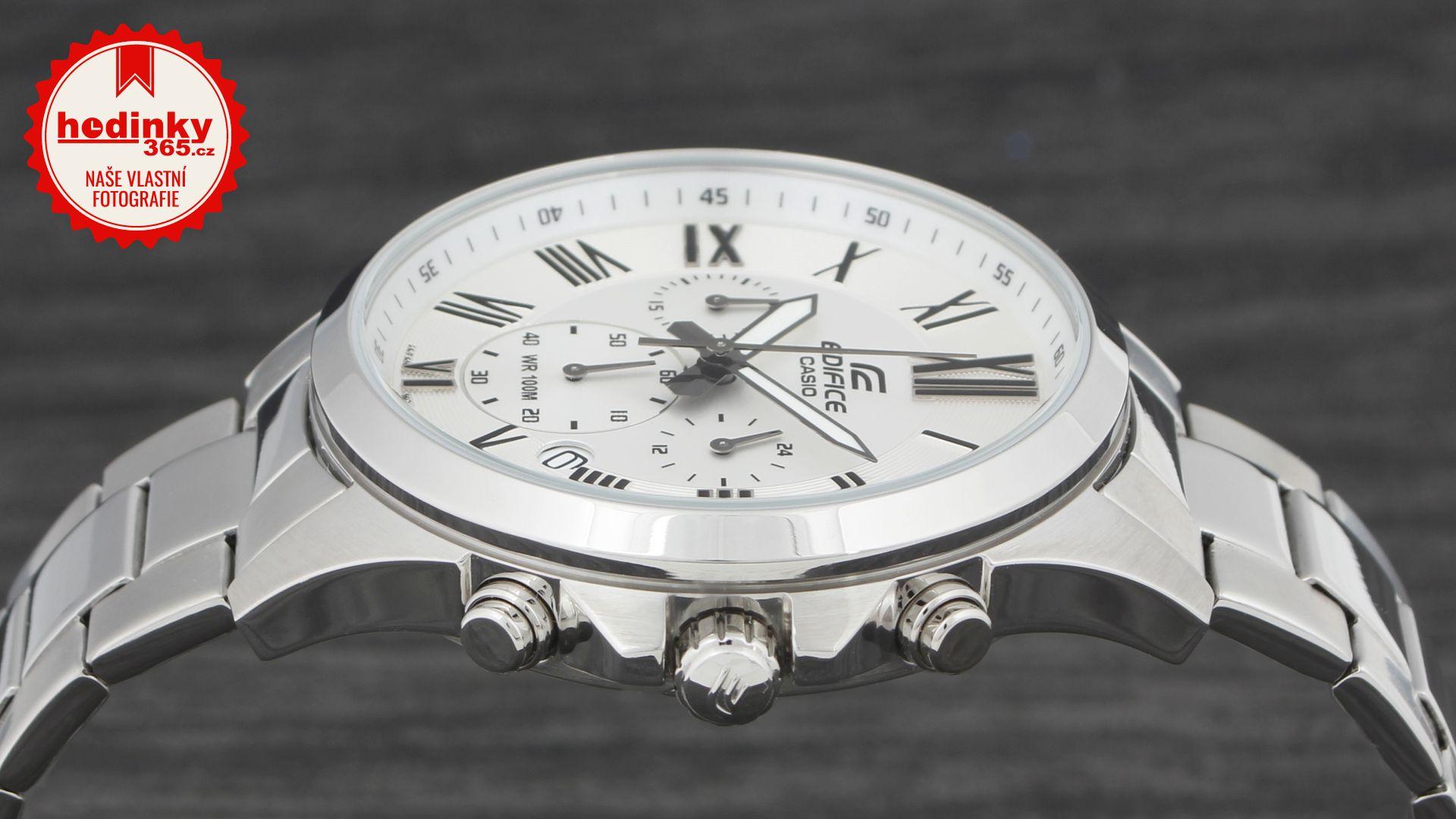 Casio Edifice EFV-500D-7AVUEF. Pánské hodinky - ocelový řemínek 8ebda103d7