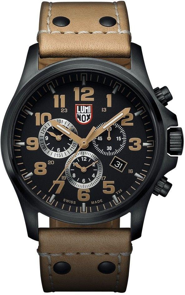 Pánské hodinky - kožený řemínek a452c7336f7