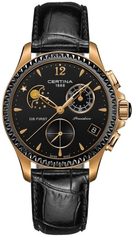 Certina DS First Lady Chronograph Moon Phase C030.250.36.056.00