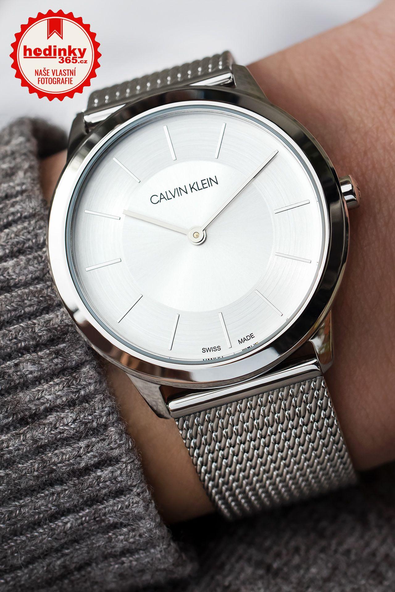 03260ee4b7 Calvin Klein Minimal K3M22126. Dámské hodinky - ocelový řemínek
