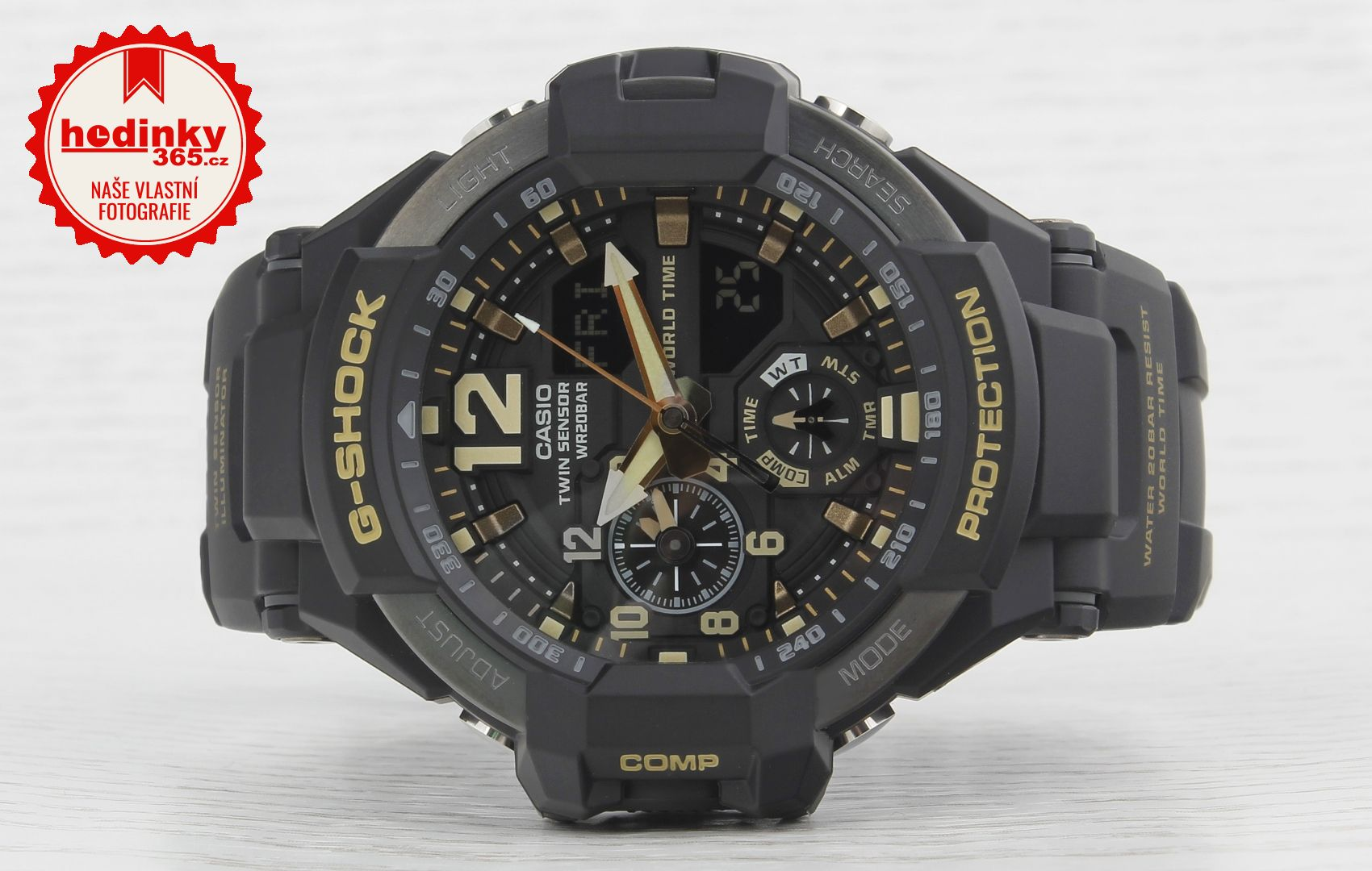 64ea0f5e36d Casio G-Shock Gravitymaster GA-1100GB-1AER Black   Gold Special ...