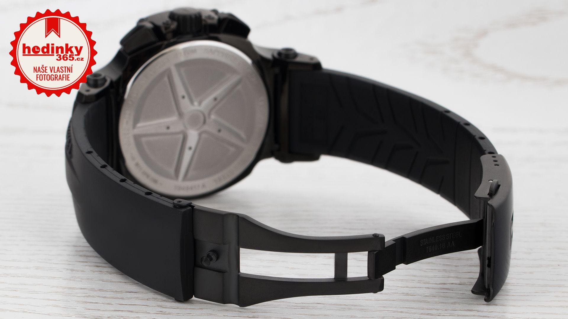 6431e1455 Pánské hodinky - plastový řemínek, ocel pouzdro, safírové sklíčko. Veškeré  technické parametry naleznete níže