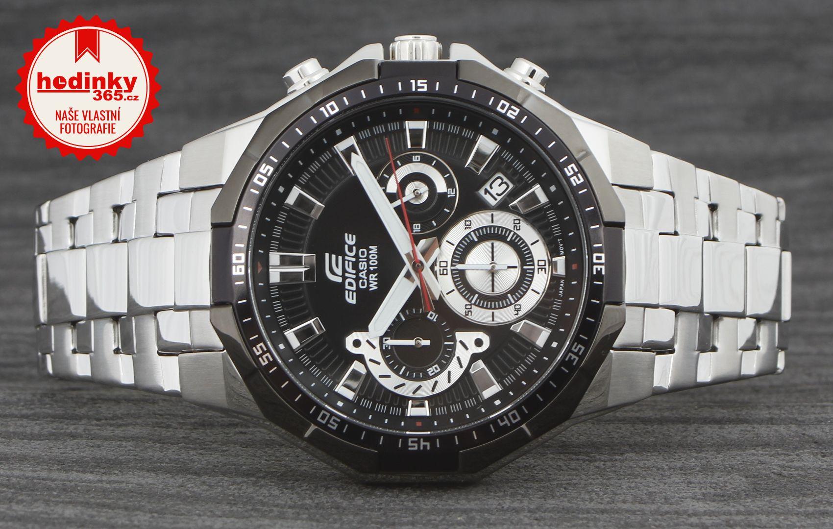 Casio Edifice EFR-554D-1AER. Pánské hodinky - ocelový řemínek c99d6dc215e