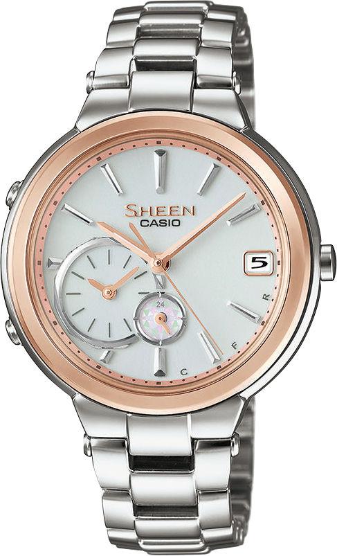 e8566b0aee Casio Sheen SHB-200SG-7AER. Dámské hodinky - ocelový řemínek