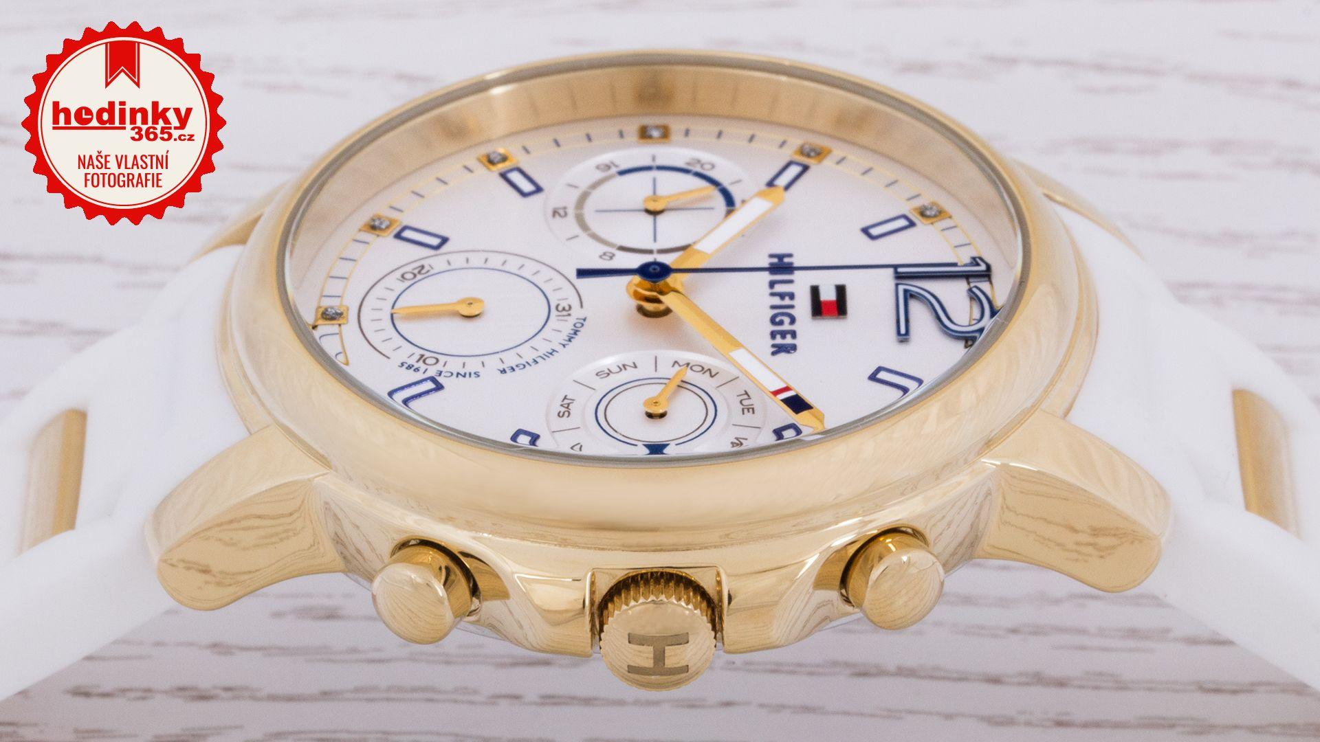 Tommy Hilfiger 1781745. Dámské hodinky - silikonový řemínek 2b0af590e5f