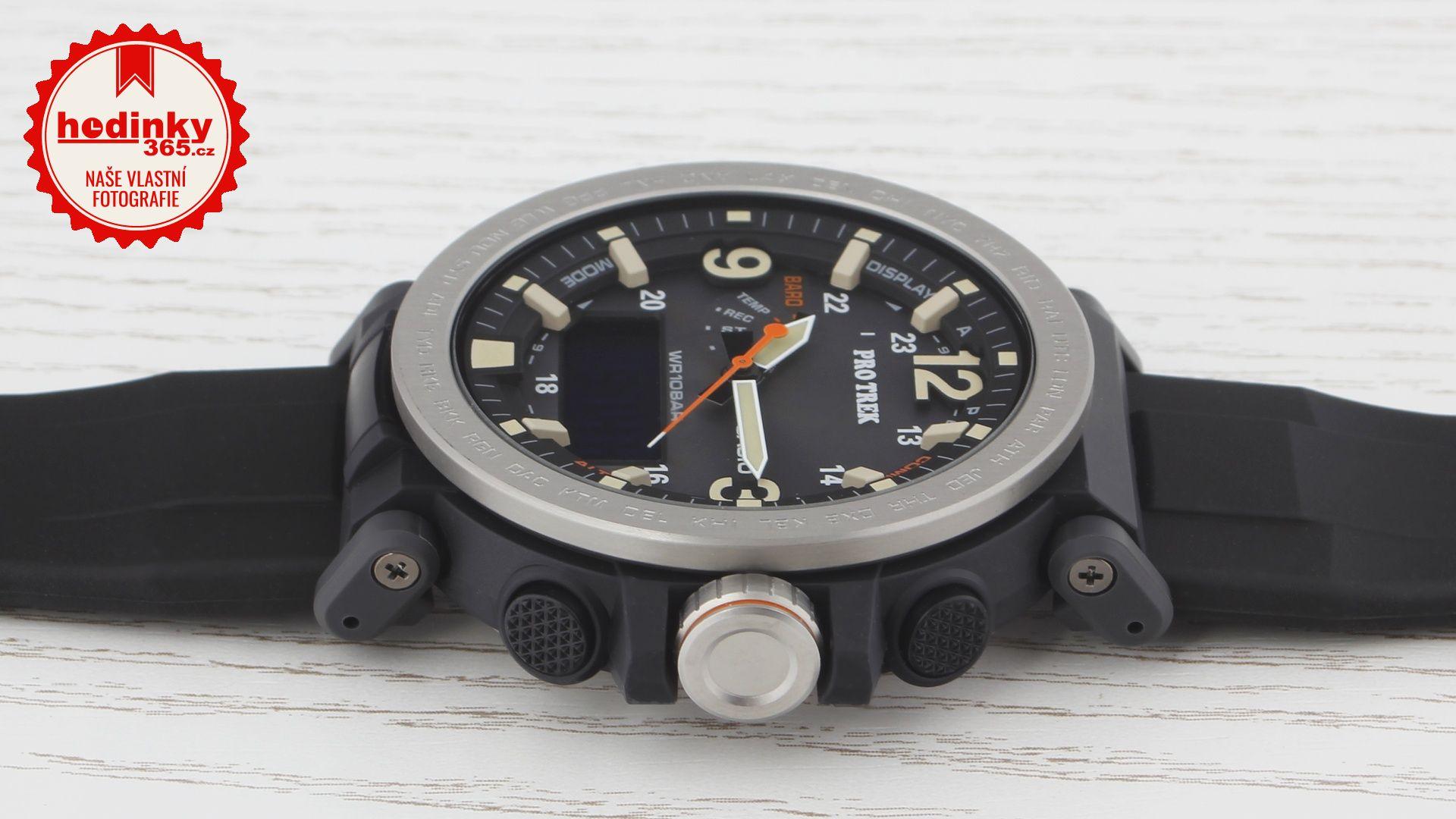 393dcbc20 Casio Protrek PRG-600-1ER. Pánské hodinky - pryskyřicový řemínek,  pryskyřice pouzdro, minerální sklíčko. Veškeré technické parametry  naleznete níže