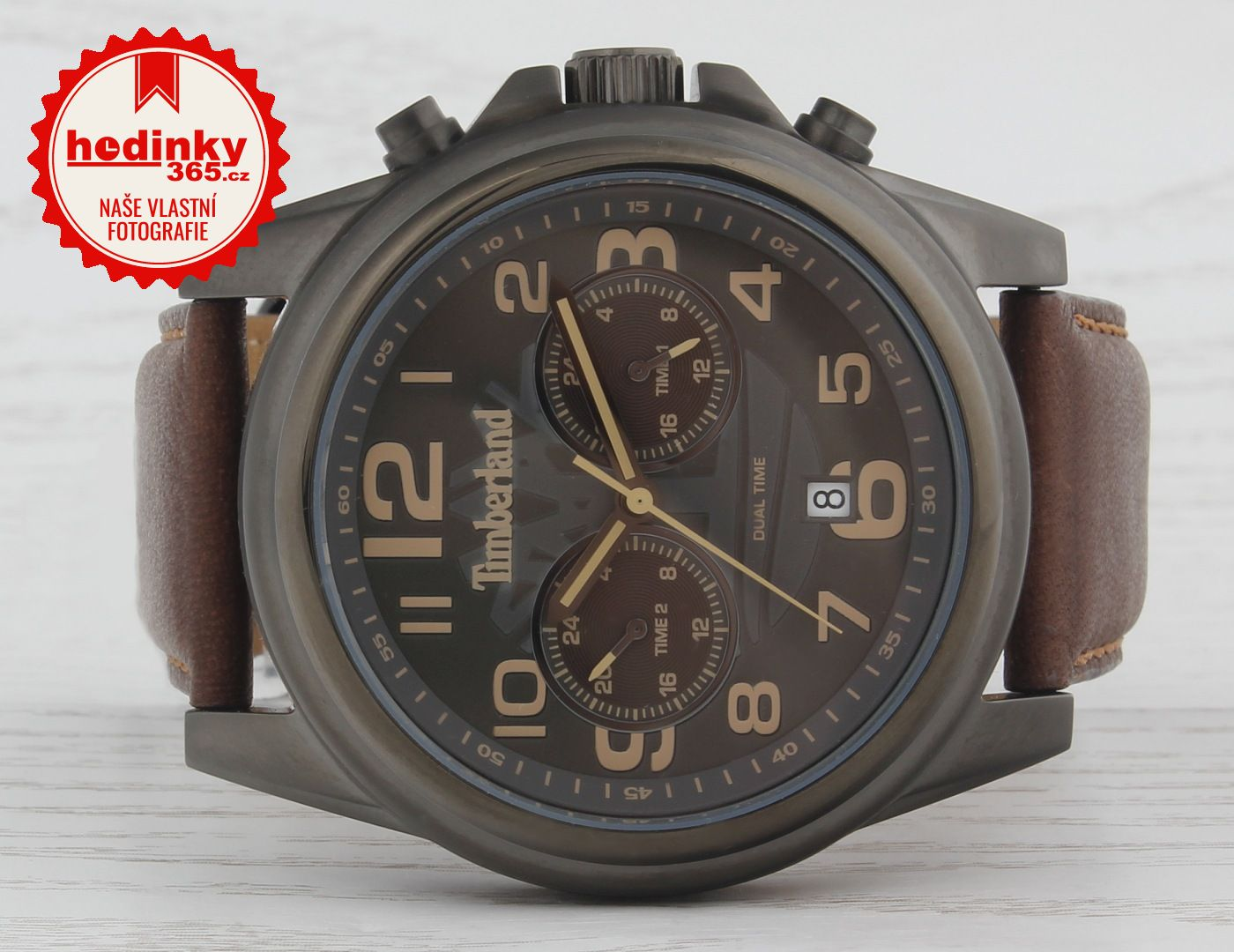 Pánské hodinky - kožený řemínek 9931f9b59d0