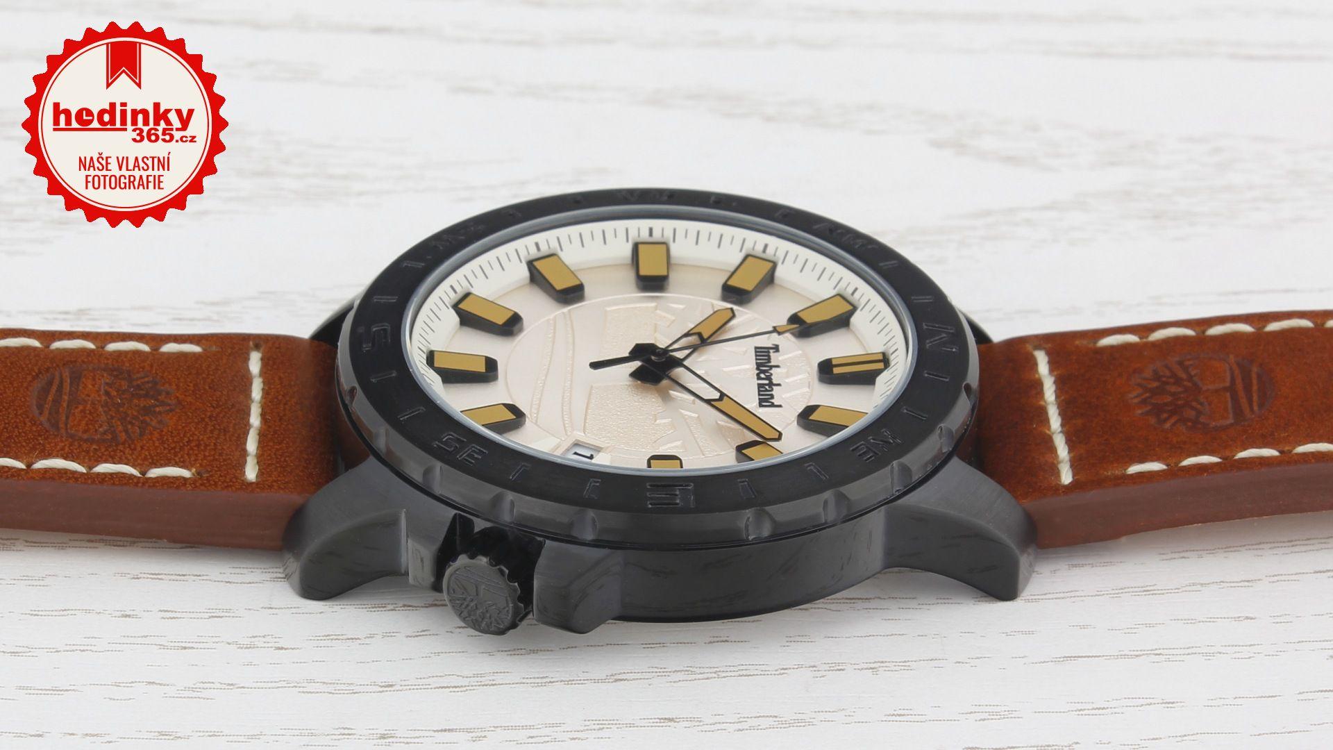 Timberland 14647JSB 07. Pánské hodinky - kožený řemínek bf36389d92