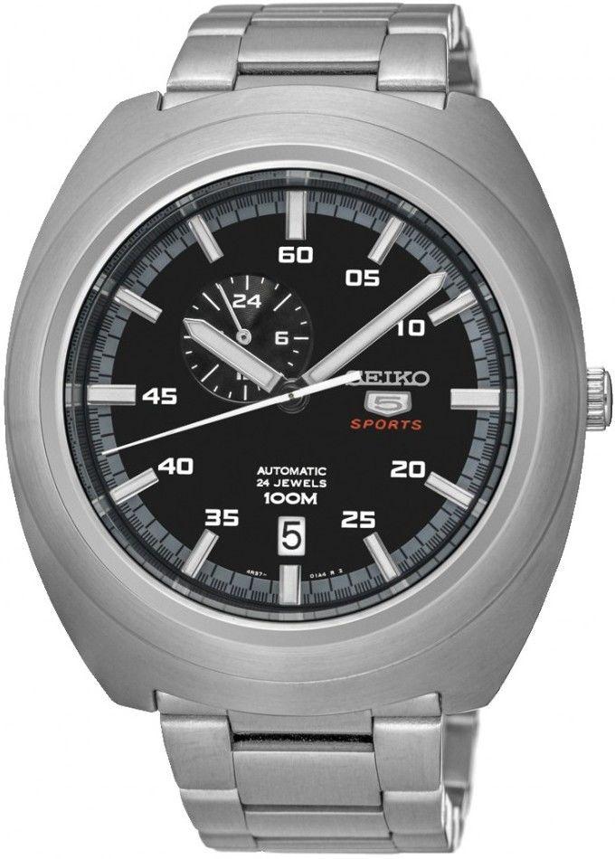 83c7e9d0c98 Seiko 5 SSA281K1. Pánské hodinky - ocelový řemínek