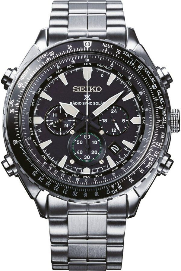 Seiko Prospex Sky Radio Sync Chronograph SSG001P1  3cbcc84778