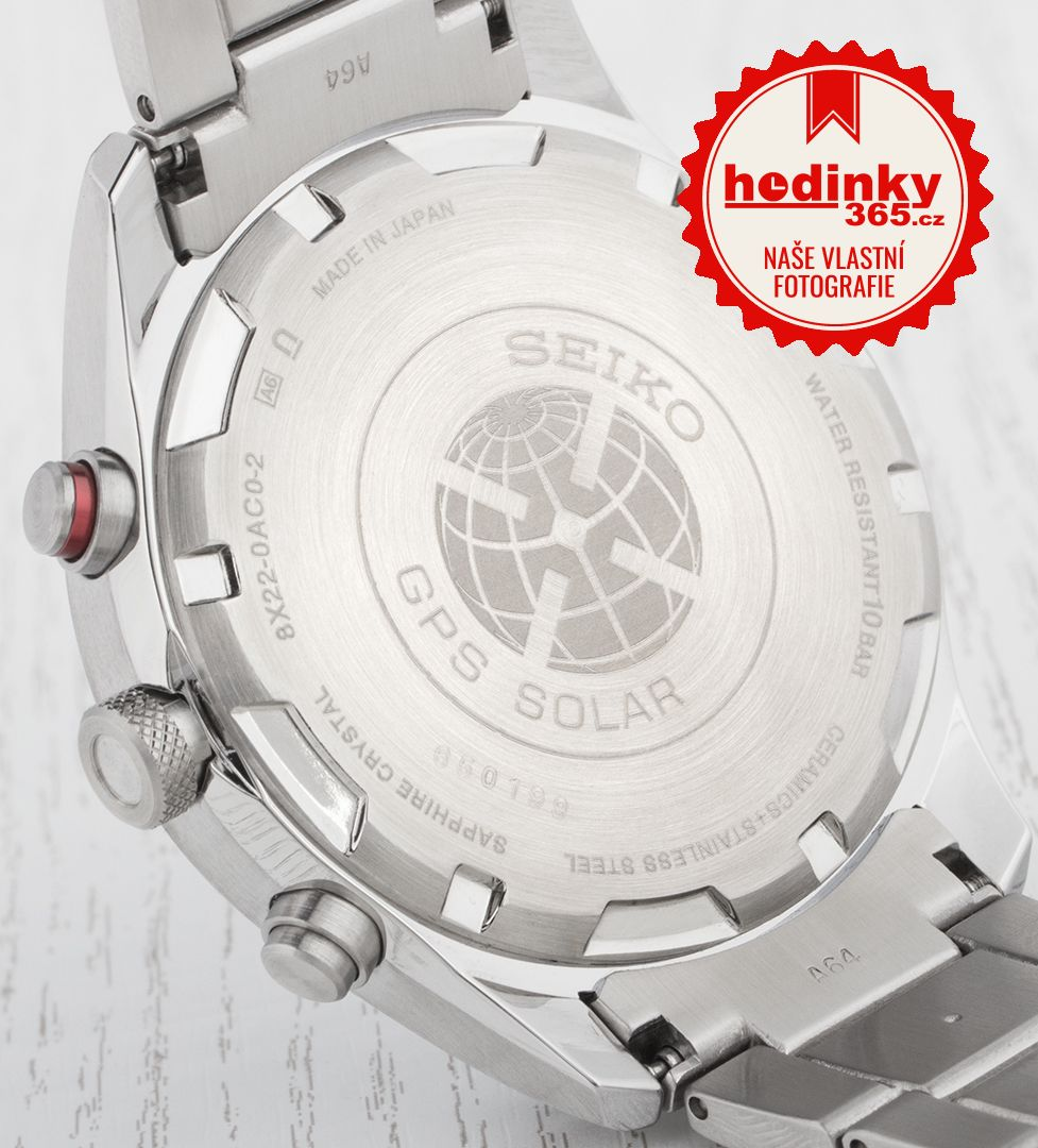 Seiko Sportura GPS Solar World Time SSF003J1  49404cb88b