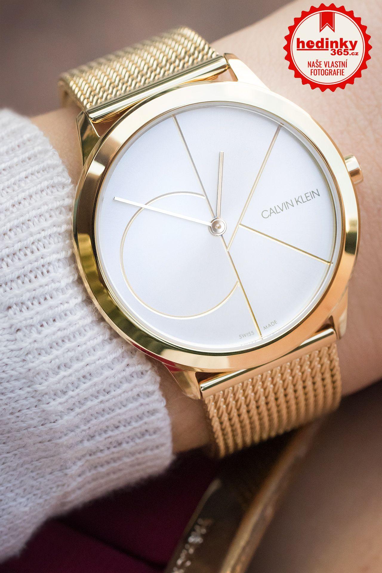 677e62ec38 Calvin Klein Minimal K3M22526. Dámské hodinky - ocelový řemínek