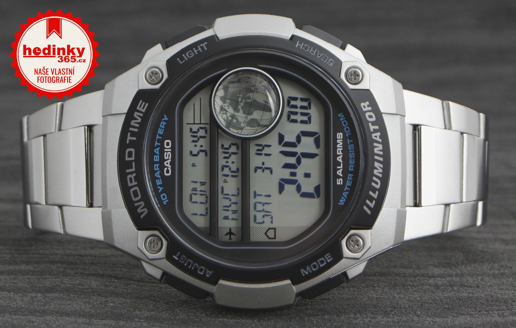 4734845536d Casio Collection AE-3000WD-1AVEF