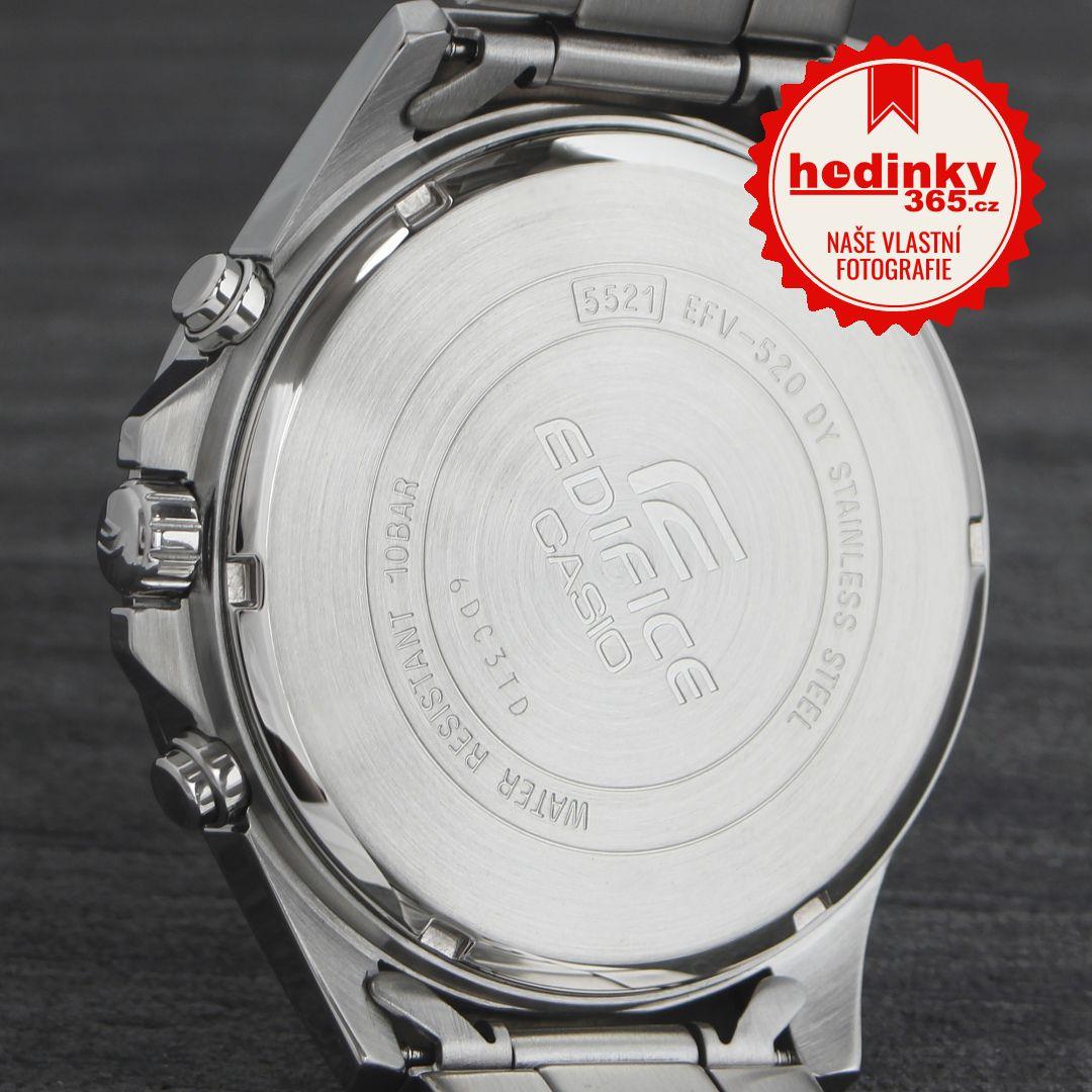 Casio Edifice EFV-520D-7AVUEF. Pánské hodinky - ocelový řemínek 3586a9b3b0