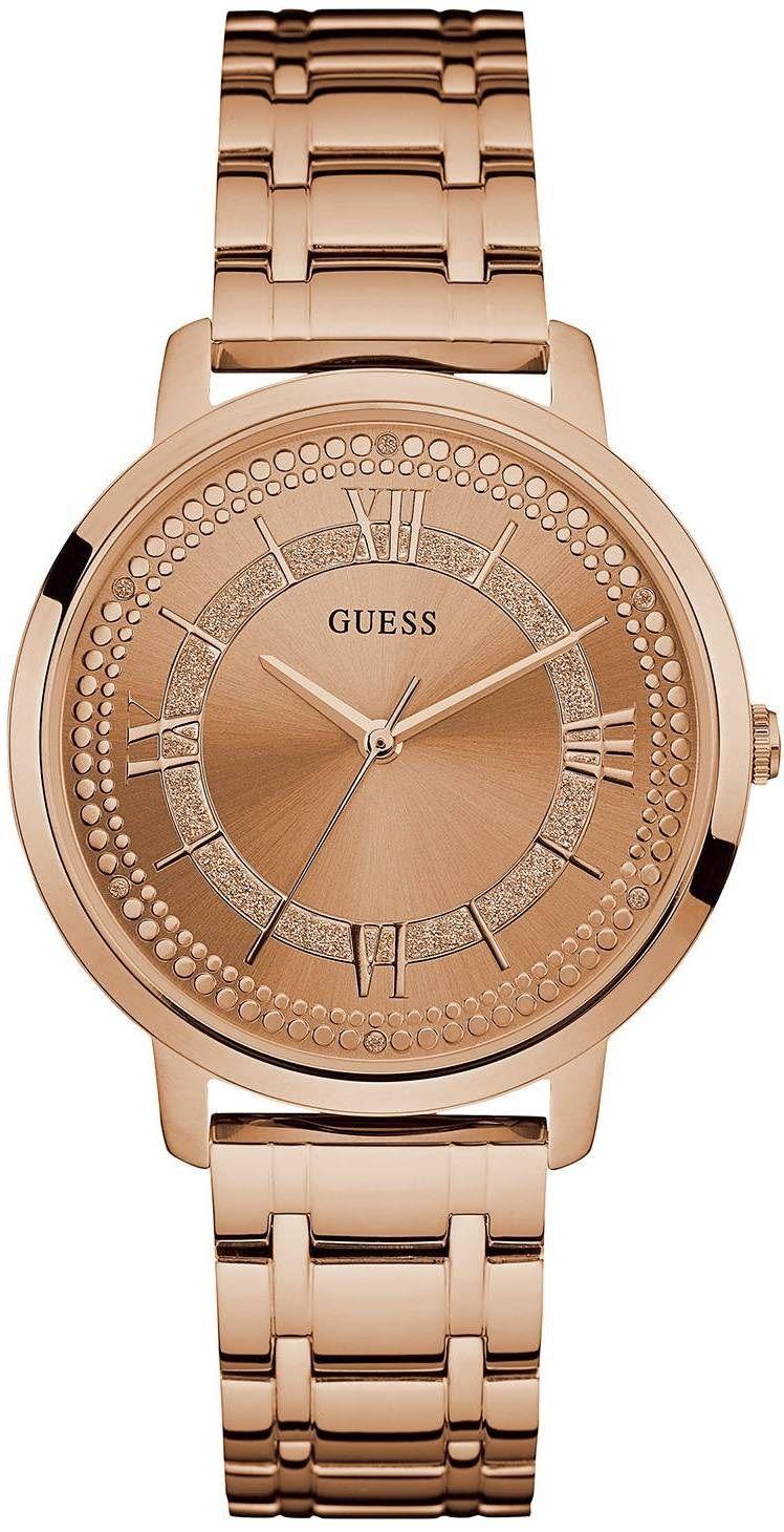 3b472743ce4 Guess W0933L3. Dámské hodinky - ocelový řemínek