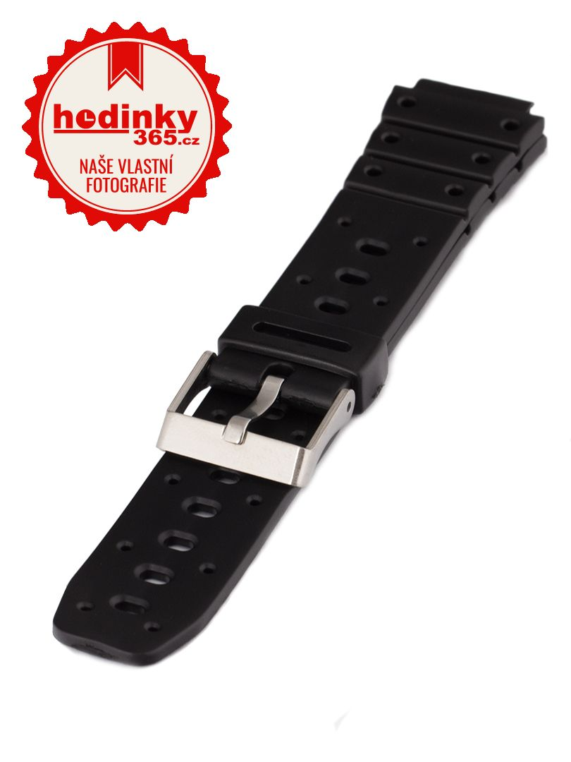 Unisex plastový černý řemínek Condor k hodinkám P150US 17 mm