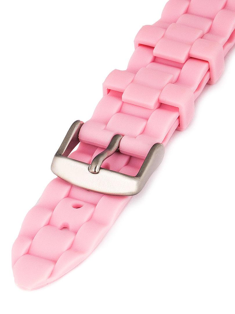 Dámský silikonový růžový řemínek Condor k hodinkám PU.106.14US
