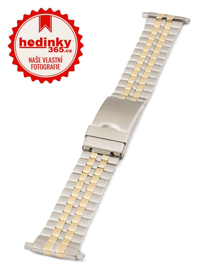 Pánský kovový Condor náramek na hodinky DD209US