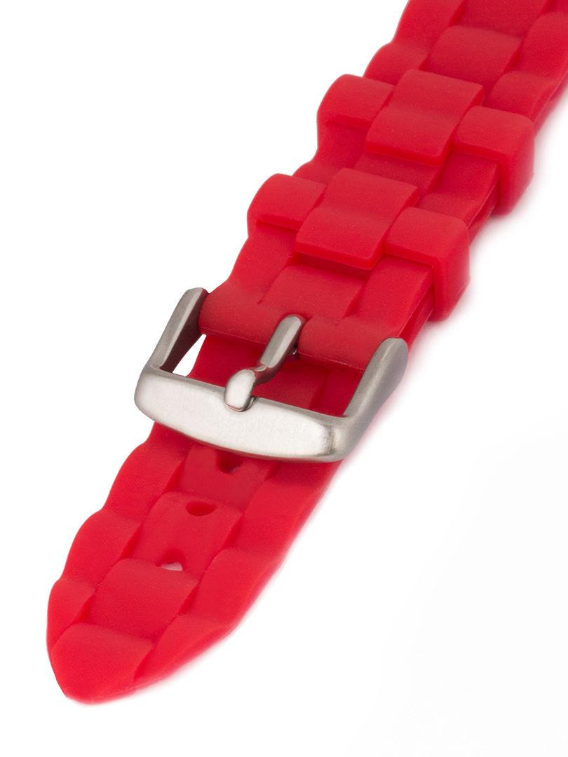 Unisex silikonový červený řemínek Condor k hodinkám PU.106.06US
