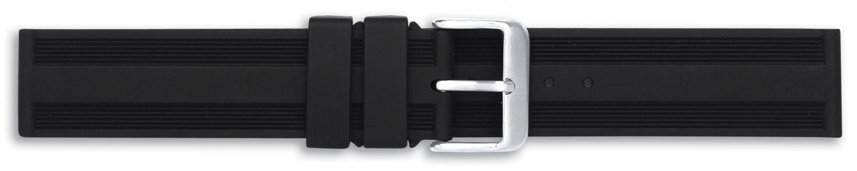 Unisex plastový černý řemínek Condor k hodinkám PU.104US