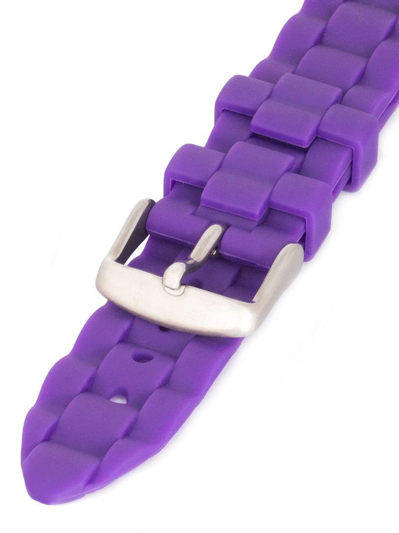 Unisex silikonový fialový řemínek Condor k hodinkám PU.106.16US