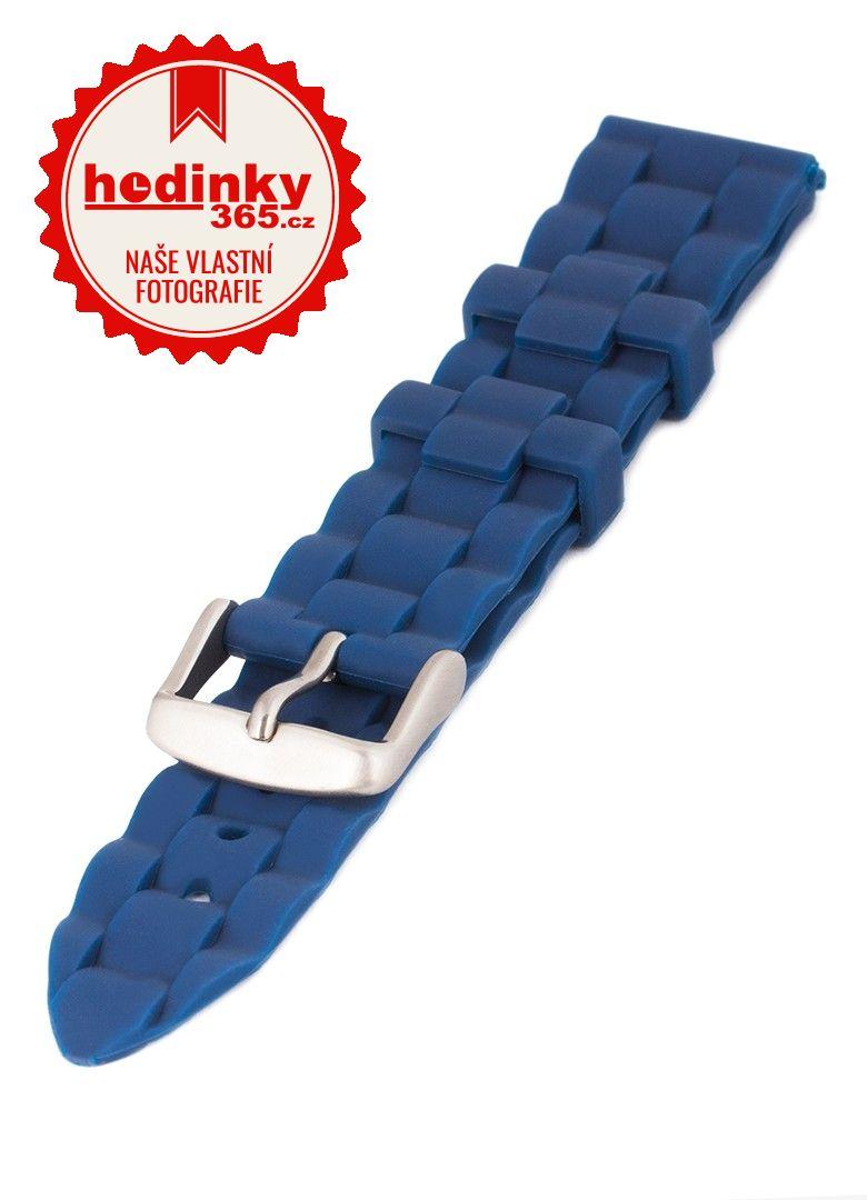 Unisex silikonový modrý řemínek Condor k hodinkám PU.106.05US