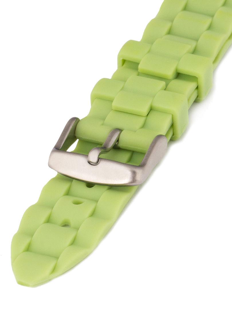 Unisex silikonový zelený řemínek Condor k hodinkám PU.106.11US