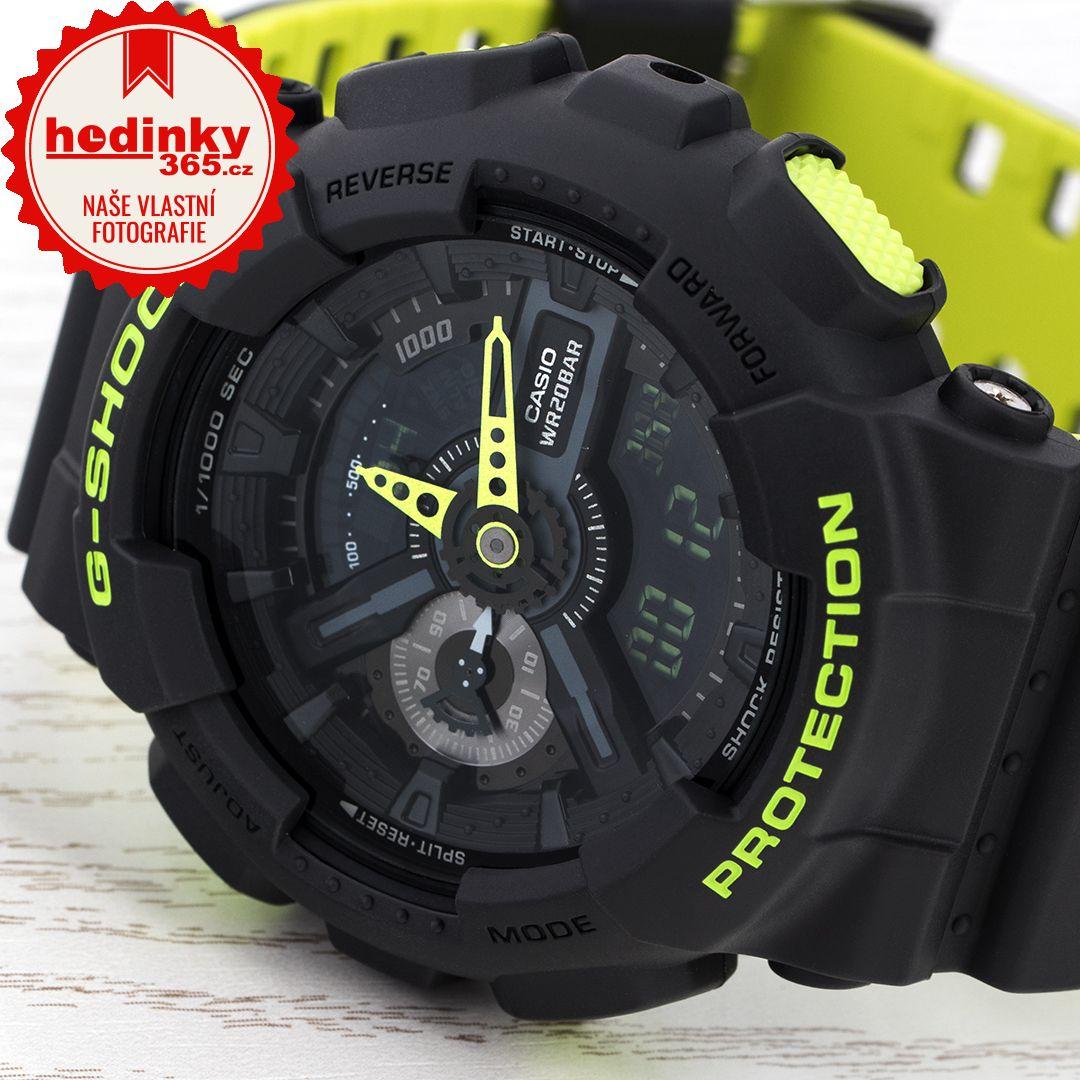Casio G-Shock Original GA-110LN-8AER. Pánské hodinky - pryskyřicový  řemínek 37c6715146