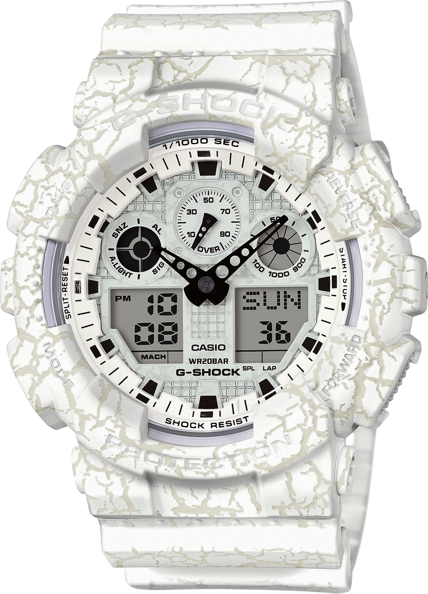 Casio G-Shock Original GA-100CG-7AER Cracked Ground Pattern Special Edition eed0307a9e3