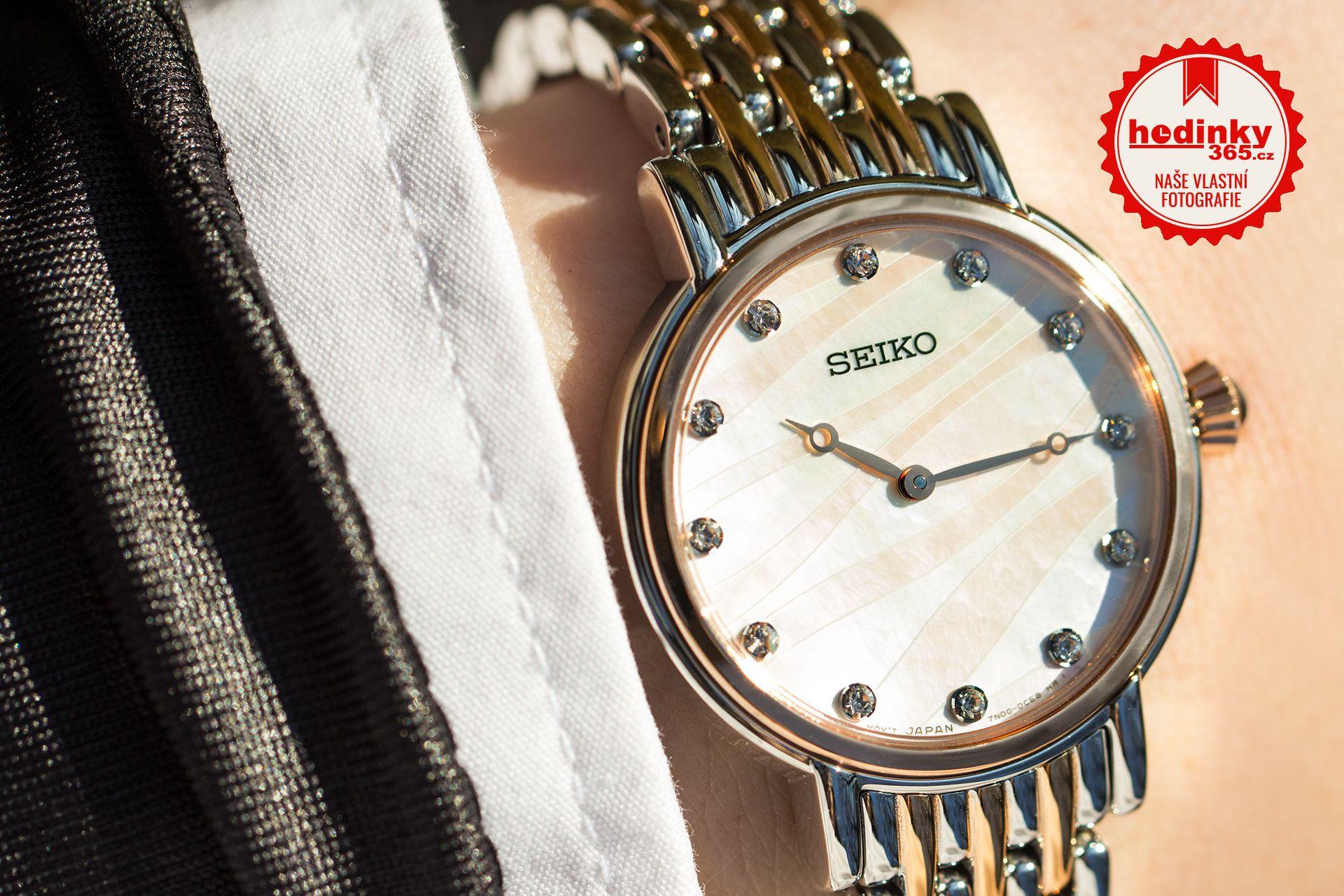 aae1e8c8bab Seiko Quartz SFQ806P1. Dámské hodinky - ocelový řemínek