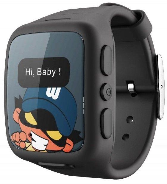 IntelioWATCH W268Č s GPS lokátorem a telefonem