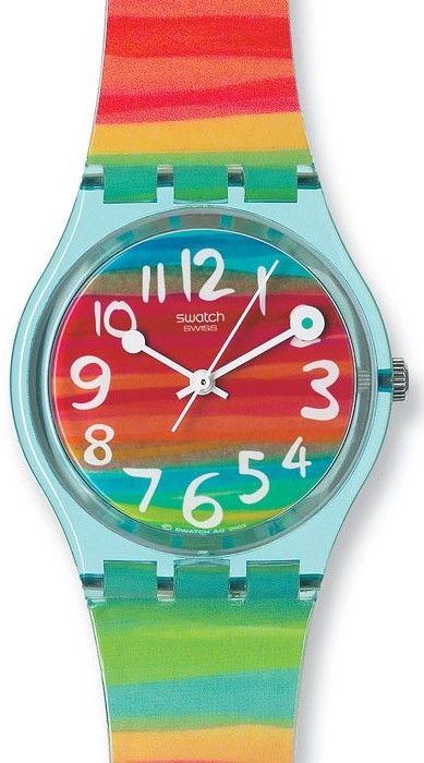 Dámské hodinky - plastový řemínek 25341d9069