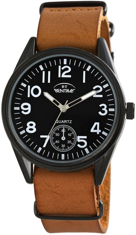 Pánské hodinky - kožený řemínek 319c1fa027