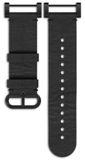 Kožený řemínek k hodinkám Suunto Essential All Black Kit